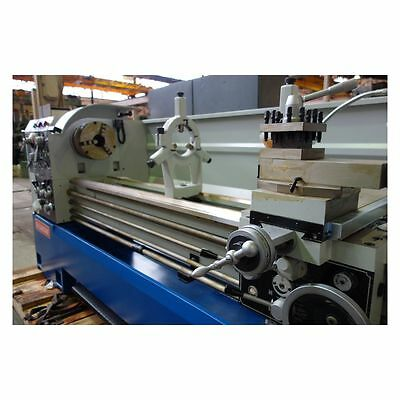 Lathe new 560 mm swing x 2200 mm centers 80 mm hollow spindle