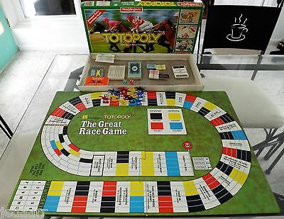 Totopoly Horse Racing Board Game 1983 Waddingtons Uk Contents Perfect