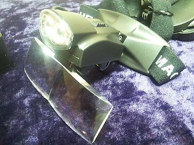 Fly Tying Focal adjustable Pentaspecs,Bright Lights,420specs,Fishing,tackle box