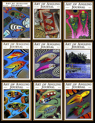 ART OF ANGLING JOURNAL All 9 issues - MINT- Schmookler Sils fly fishing tying