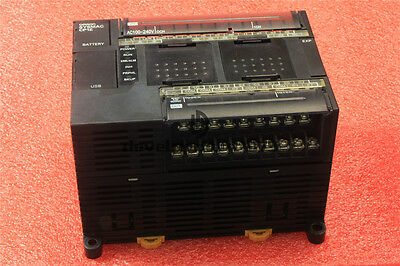 Used OMRON CP1E-N30DR-A PLC Module Tested