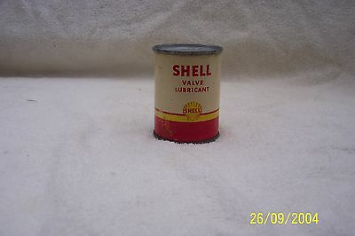 Shell Valve Lubricant 4oz. can - Full oil can