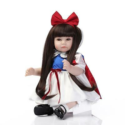HOT New 52CM Handmade Lifelike Baby Doll Silicone Vinyl Reborn  Newborn Dolls