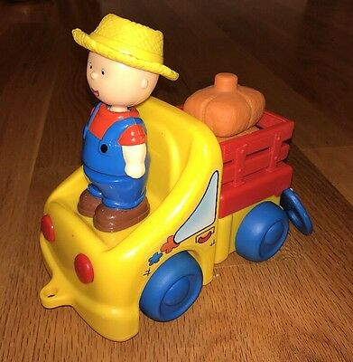 CAILLOU PLAY SET - FARMER CAILLOU & TRUCK (Great Condition)