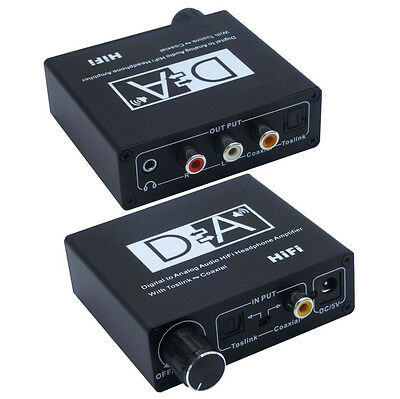 Digital to Analog Headphone Amp with Volume Control