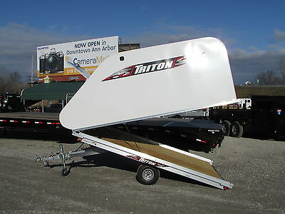 New Triton 10' Snowmobile Trailer * Year End Sale Going On Now * Dr Trailer