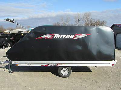 New Triton 12 Ft Snowmobile Trailer * Year End Sale Going On Now * Dr Trailer
