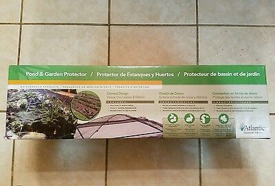 Atlantic Water Gardens Pond and Garden Protector with Netting, 7-Feet by 9-Feet