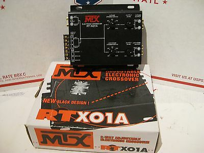 NEW IN BOX - NOS - MTX RT-X01A Electronic Crossover Car Audio - FAST Ship -