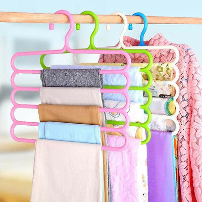 Clothes Dry Rack Holder Hanger Hook for Pants Trousers Denim Jeans Scarf Coat