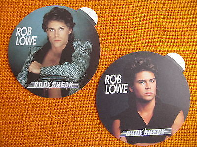 Rob Lowe Youngblood Bodycheck Aufkleber 80er german Sticker 80s Spalle larghe
