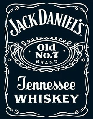 JACK DANIELS OLD NO. 7 BRAND LOGO MINI- 40X50cm POSTER NEW Licensed Sydney Stock