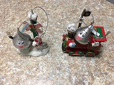 Two Hershey's Kisses Ornaments
