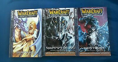 Warcraft The Sunwell Trilogy VOL1, 2, 3: Manhwa Manga Complete Lot,English NEW