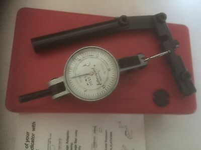 "INTERAPID 312B-2 DIAL TEST INDICATOR .0005"" (Exc cond.  No engravings. )."