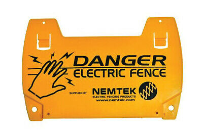 Nemtek Electric Fence Warning Sign