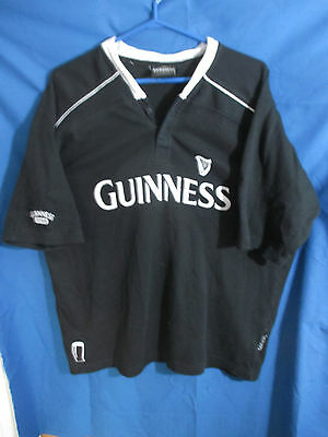 Guinness Beer Rugby Shirt Size XL