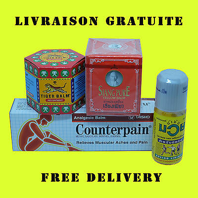 Découverte pack 4 baumes antidouleur  / Discovery 4 anti-pain balm pack