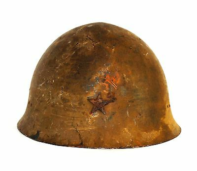 WW2 Japanese Army Iron Helmet Type 90 Military from Japan #017