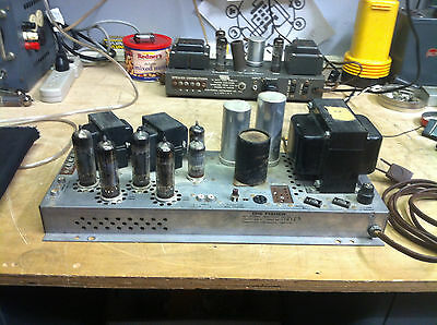 Fisher 460-A EL84 stereo tube amp