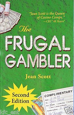 New The Frugal Gambler by Jean Scott (2nd Edition, Revised, 2005) Casino Comps