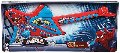 Spiderman Deluxe Childrens Kids Acoustic Guitar Musical Instrument Childs Toy. H