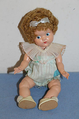 "1948-50 Vogue 8"" CRIB CROWD Early Painted Eye  Doll #8 ADORABLE! Pre Ginny"