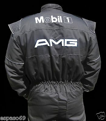 Mechanic Overall Coverall  Racing Suit AMG with embroidered logo NEW PROMO