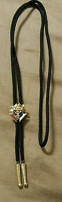 Rare K of C Knights of Columbus bolo tie from NM