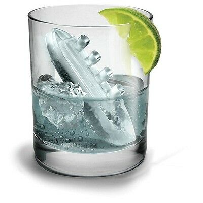 Gin & Titonic Ice Cube Tray | fred titanic tonic cubes spheres ship boat sinking