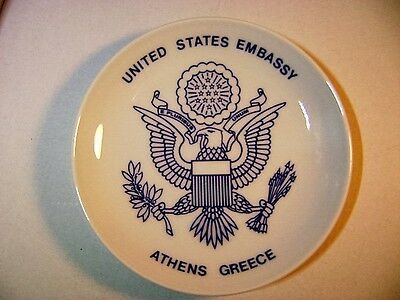 United States Embassy Plate