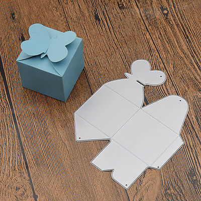 DIY Heart Candy Box Cutting Dies Metal Stencil Craft Making Tool Party Decor 1pc