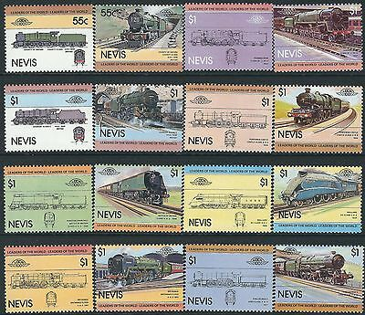 e106) Nevis. MNH. 19831. Small Collection of Railway Locos. 1st Series