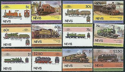 e108) Nevis. MNH. 1985. Small Collection of Railway Locos. 4th Series