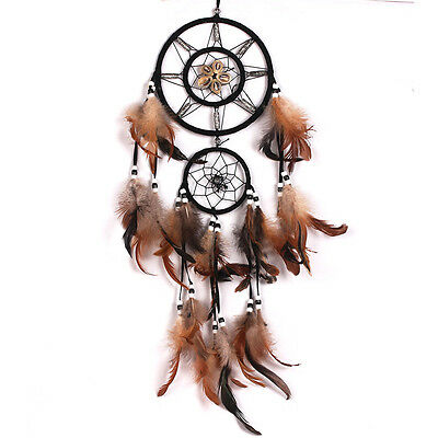 Molshine Dream Catcher With Feather Wall Car Hanging Ornament Decoration Gift