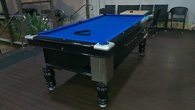 Pool Table Coin operated 7x4 Pub style pool table pot black