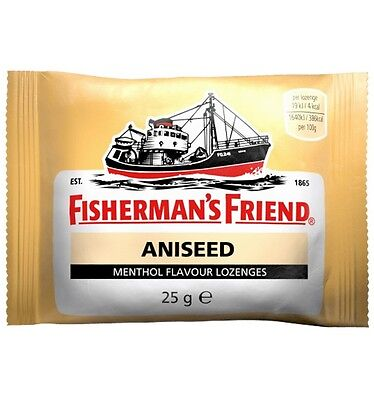 Fisherman's Friend  Aniseed Flavour 25g x 12