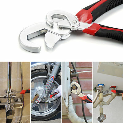 2x Quick Adjustable Multi-function Snap'N 9-32mm Universal Grip Wrench Spanner