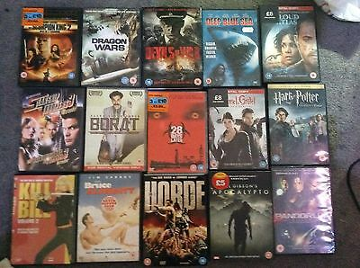 job lot of 85 dvds box sets and seires