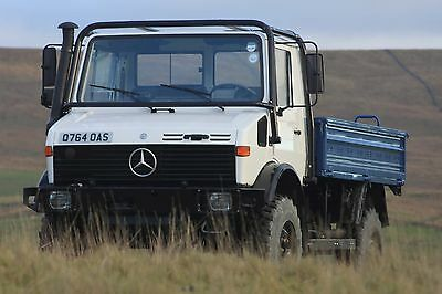 Unimog Cab Protection Roll Frame Brush Guard Expedition U1300L