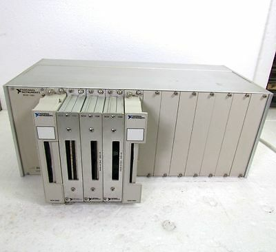 National Instruments SCXI-1001 Chassis with 1100 1180 1162 1160 & 1102 Modules