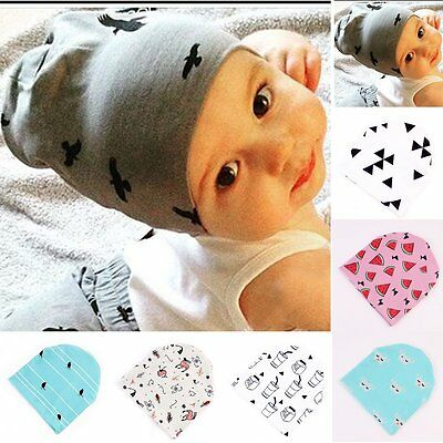 New Unisex Baby Cap Beanie Boy Girl Toddler Infant Newborn Cotton Soft Cute Hat
