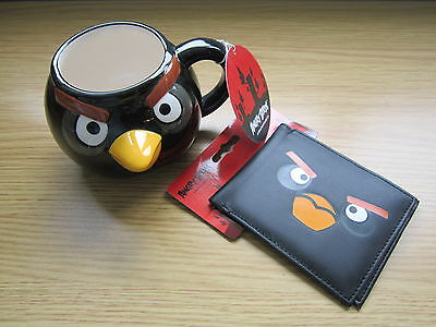 Angry Birds Mug & Wallet Stocking Filler - Brand New With Tags