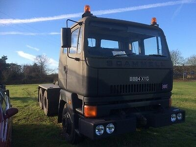 scammell S26 & low loader trailer