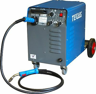 TecArc Compact MIG Welder | 180A | Free MB15 and Earth | Single Phase |