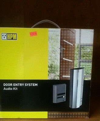 HPM Door Entry System Audio Kit (DIY. No Electrician required) BNIB. RRP$208