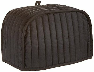 Quilted Toaster Cover Black Fits Two Slice Toaster New With Free Shipping