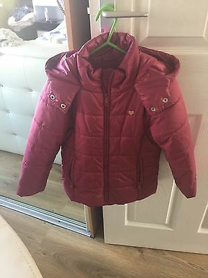 Reserved Girls Winter Coat 5-6 Years