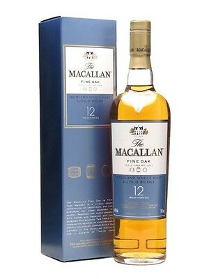 The Macallan 12 Year Old Fine Oak Scotch Whisky 700ml