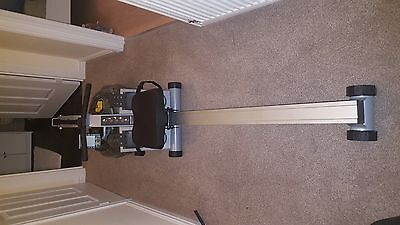 NEARLY NEW- FluidRower-Pacific Challenge AR Fluid Rower (Adjustable Resistance)